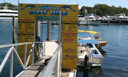 BOAT HIRE - Nelson Bay, Port Stephens
